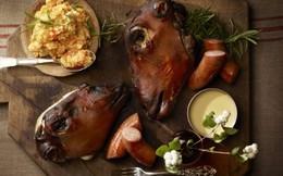 Khóc thét với món ăn đầu cừu của người Na Uy