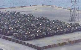 TQ xuất khẩu số lượng lớn xe tăng cho khách hàng giấu tên