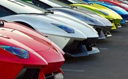 "Choáng ngợp: Lamborghini khoe dàn ""siêu xe"""