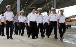 Chủ tịch nước Trương Tấn Sang thăm và làm việc tại Vùng 4 Hải quân