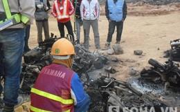Hỗn chiến ở nhà máy Samsung Thái Nguyên: Công nhân đốt 20 xe máy