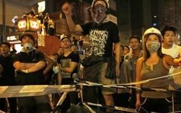 Cảnh sát Hồng Kông lại dùng hơi cay với người biểu tình