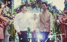 Lễ cưới lãng mạn của DJ đồng tính nổi tiếng Thái Lan