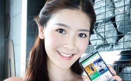 Người đẹp vai trần ngọt ngào với HTC One M8