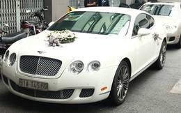 Cận cảnh siêu xe Bentley 11 tỷ rước Trà My Idol về dinh