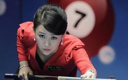 Mỹ nhân không tuổi làng billiards đẹp khó cưỡng