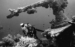 """Bí mật về """"khu mộ"""" dưới biển của hạm đội Nhật Bản"""