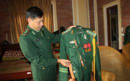 Bộ quân phục đặc biệt của chiến sĩ canh giấc ngủ Đại tướng