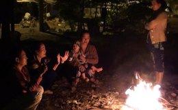 Người Sài Gòn đốt lửa chống lạnh cuối năm