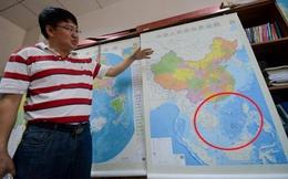 TQ xuất bản bản đồ khổ dọc lớn, trắng trợn vi phạm chủ quyền VN