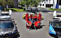 Chiêm ngưỡng dàn siêu xe của một ông trùm bất động sản