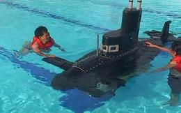 """Tàu ngầm """"made in Vietnam"""" xuất ngoại"""