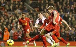 Liverpool 2-2 Aston Villa: Thất vọng Anfield