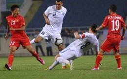 BXH FIFA: Việt Nam trên Thái Lan, dưới... Philippines