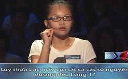 Cô bé giỏi toán khiến nhiều người bái phục
