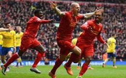 Đội hình tiêu biểu vòng 25 NHA: Gạch tên Arsenal, Man United