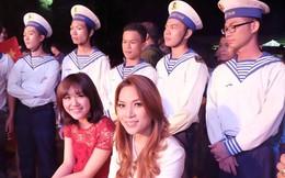 Văn Mai Hương, Mỹ Tâm bay ra đảo cổ vũ các chiến sĩ hải quân