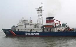 Tàu cảnh sát biển VN và Ngư chính TQ kiểm tra liên hợp trên biển