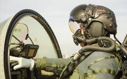 Lộ diện mũ bay tối tân nhất cho phi công chiến đấu