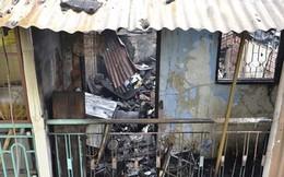 Cháy rụi nhà 3 tầng trong hẻm, nguy cơ tường đổ sập
