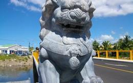 Sư tử đá Trung Quốc 'tung hoành' khắp thế giới