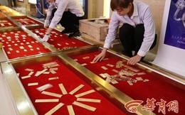 Trung Quốc: Dùng 200kg vàng ròng để lát đường