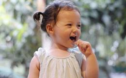 Vẻ đáng yêu của nhóc tì lai mang 2 dòng máu Việt - Mỹ
