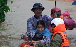 Lạng Sơn chìm trong lũ sau bão Thần Sấm