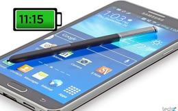 """Top 5 smartphone đẳng cấp """"pin khủng"""" nhất hiện nay"""