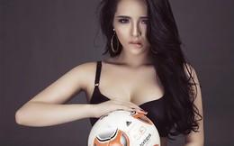 Lại Hương Thảo khoe hình thể nóng bỏng chào World Cup