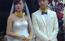 """Hoa mắt trước những đám cưới """"ngập"""" trong vàng và siêu xe"""