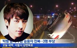Video tai nạn xe của Seungri (Bigbang) khiến fan Kpop thót tim