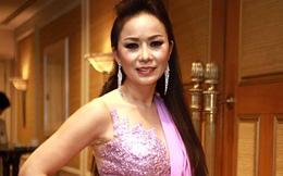 Hoa hậu gốc Việt Di Ái Hồng Sâm về VN họp báo
