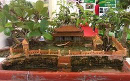 Cổng làng cổ Đường Lâm thành tác phẩm bon-sai nghệ thuật