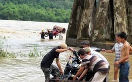 Rốn lũ ngập nặng sau bão số 4