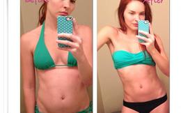 """Vạch mặt những bức ảnh mặc bikini """"trước và sau khi giảm cân"""""""