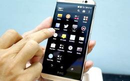 HTC One M8 sang trọng với phiên bản Gold