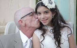 Cha làm đám cưới cho con gái 11 tuổi vì mắc bệnh hiểm nghèo