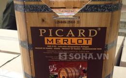 Phát hiện gần 1 nghìn thùng rượu vang Tây lậu
