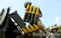 Pháo cao xạ 57 mm có khí tài đánh máy bay địch bay thấp