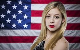Vẻ đẹp hớp hồn của VĐV trượt băng người Mỹ tại Olympic Sochi