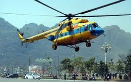 Hình ảnh chuyến công tác đặc biệt của trực thăng vừa gặp nạn