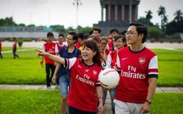 """Chuyện cô nàng """"quyền lực"""" nhất của 50.000 fan Arsenal Việt Nam"""