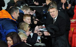 Man United lên kế hoạch sa thải David Moyes
