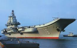 Tàu sân bay Liêu Ninh phải về cảng sửa chữa