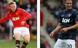 Bơ Rooney, Van Gaal chọn Persie làm đội trưởng Man United