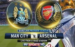 Box TV: Xem TRỰC TIẾP và SOPCAST Arsenal vs Man City (00h30)