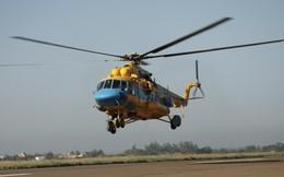 Ảnh: Trực thăng, tàu quân sự VN tìm máy bay Malaysia mất tích