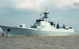 TQ gấp rút thử nghiệm khu trục hạm Type 052D cho Hạm đội Nam Hải
