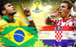 Mở màn World Cup: Khi Brazil... kém nhất trong lịch sử